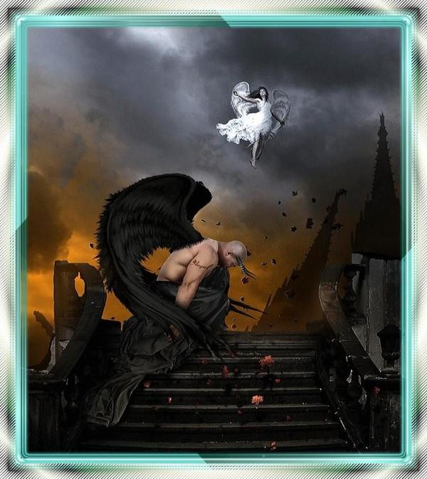 00878136 dans fond ecran ange noir