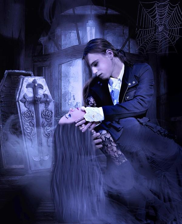 dans fond ecran vampire couple 2a3a05e1