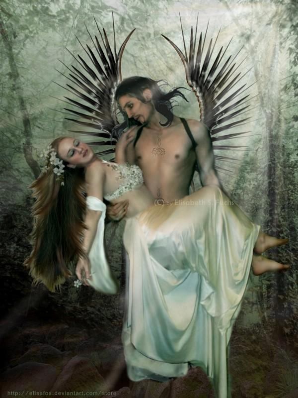 dans fond ecran d'anges couple ab98dcf5