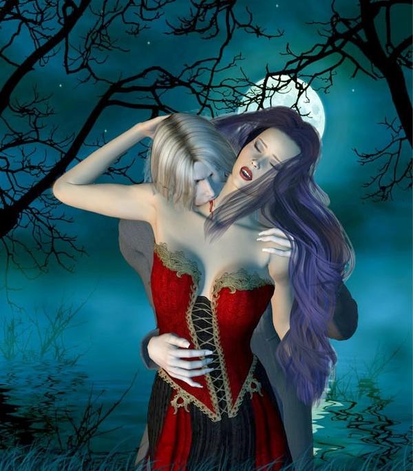 dans fond ecran vampire couple ff9388f0